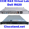 3. CCIE R&S v5.1 Lab Dell R620 128GB 20 CSR-1000v Routers + GNS3